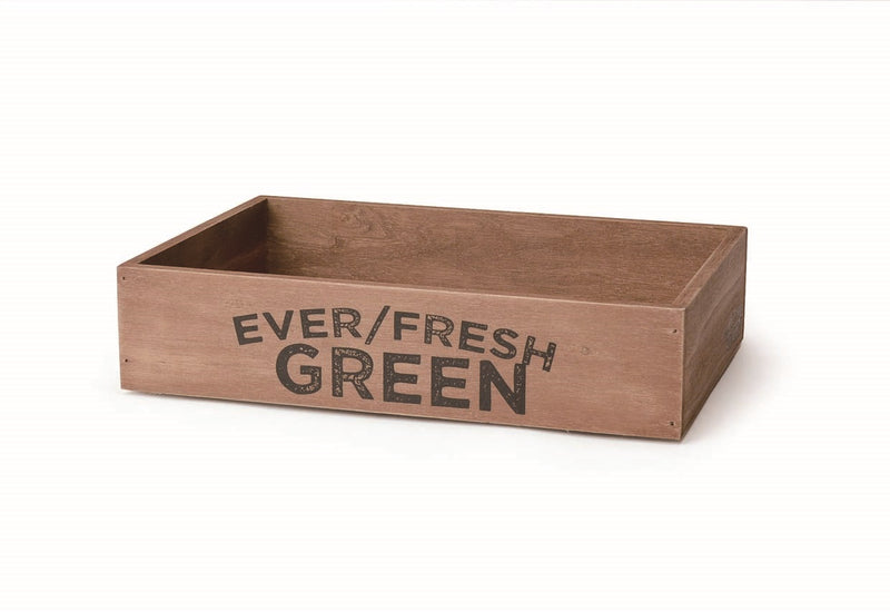 Wood Harvest Box Stackable Everfresh M WOHESTEM
