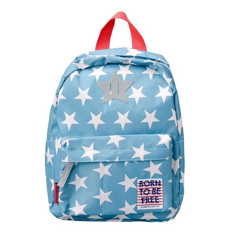 BORN TO BE FREE Backpack Light Blue BOFRBPLB