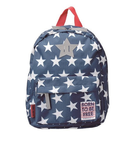 BORN TO BE FREE Backpack Navy BOFRBPNV