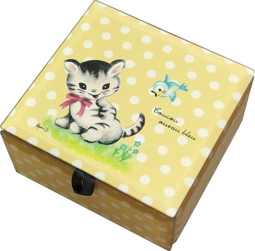 LE RONDROND Square Box Cat LEROSBCA