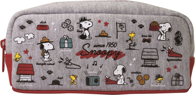 Snoopy Eye Con Sweat Pen Pouch Red 4226233