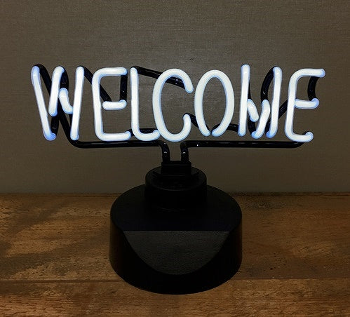 2-Way neon sign WELCOME SLW114