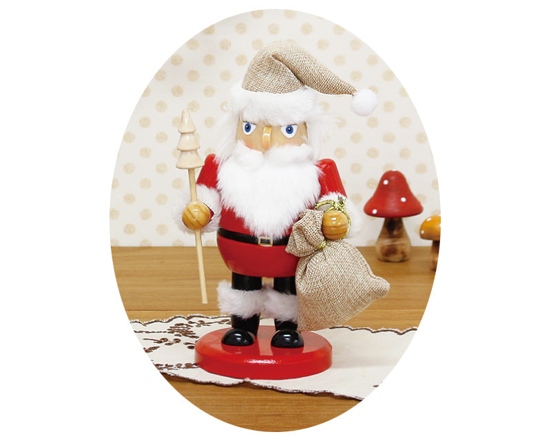 Nutcracker Objet Natural Santa S