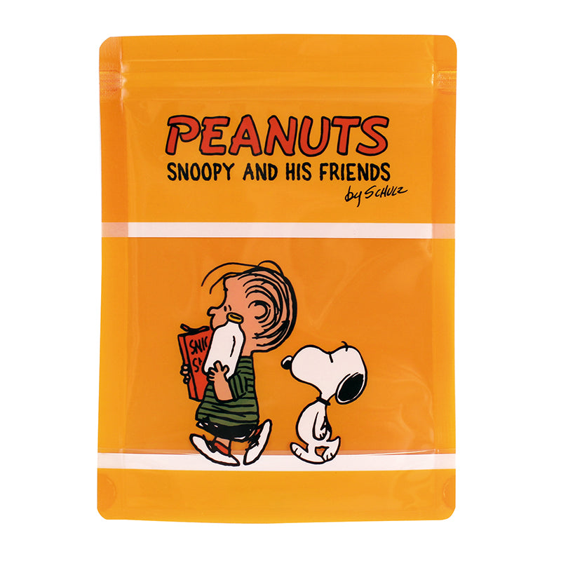 PEANUTS Storage Bag Yellow PA-642