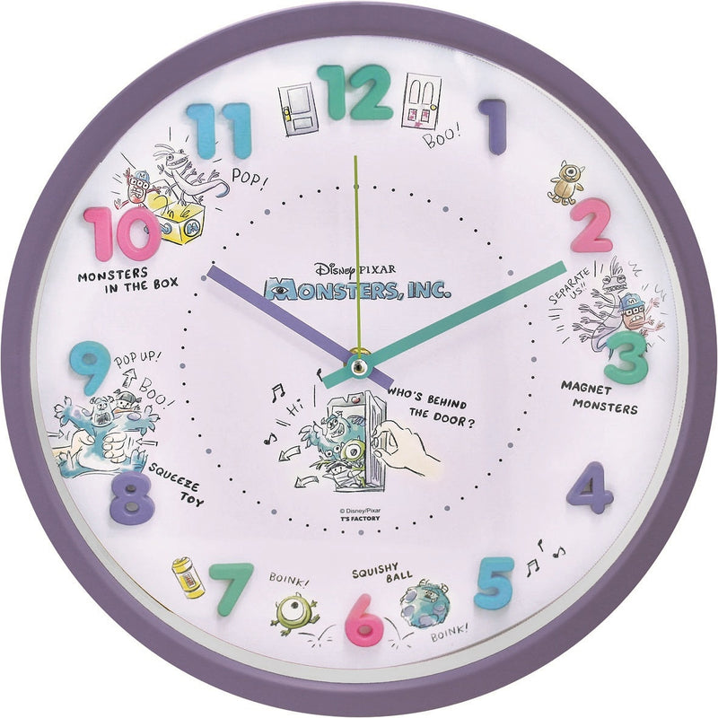 2926113 Disney icon wall clock Monsters, Inc.