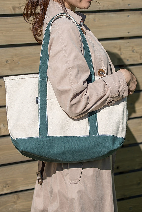 53120 amie Canvas Tote S Green