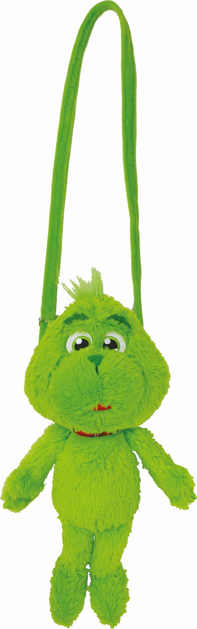 Grinch Plush Shoulder Pouch 9362