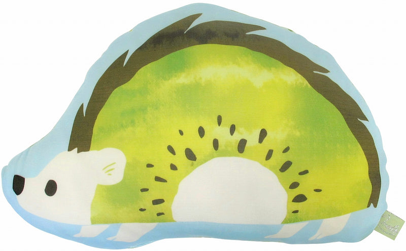 Moggy Cushion Hedgehog Green 72308