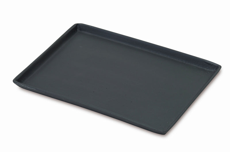Rectangle Plate Black 63628