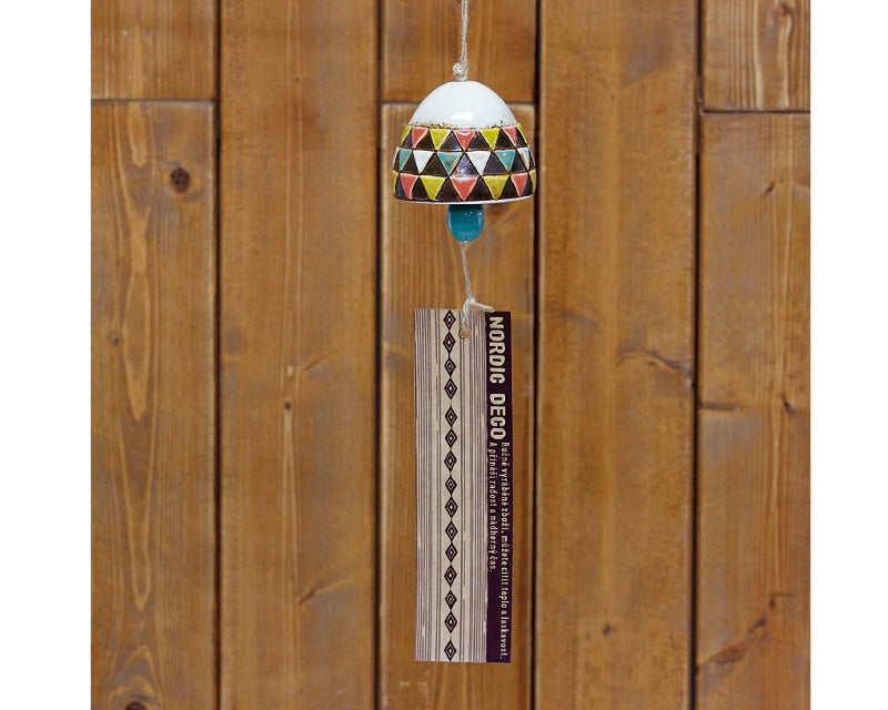 Nordic Deco wind chime, flag 4008041-03