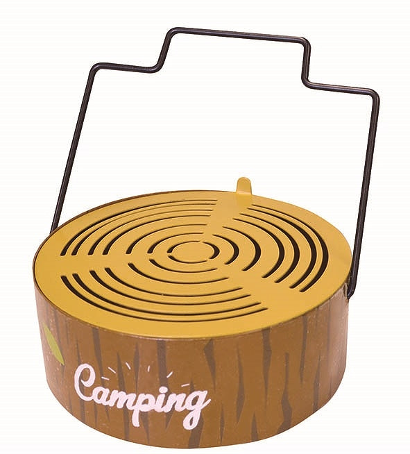 mosquito coil holder round woody 162759