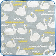 HELLO BEAR Swan Handkerchief [Made in Japan] A293SW