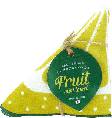 Fruit Handkerchief Lemon [Made in Japan] A335LE