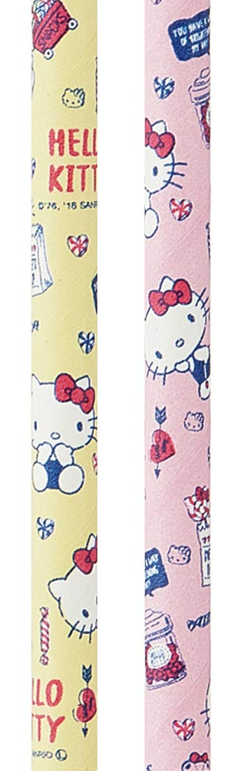 Hello Kitty Paper Straw 6 Φ PST1