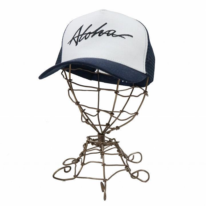 Hat Mesh Cap Mesh Cap Mens Womens Cotton ALOHA Keys 1 pair