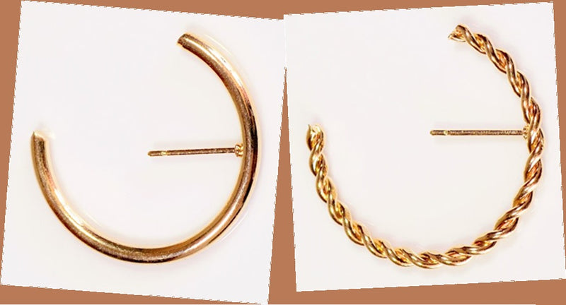 Original Earring Brackets] Earring Brackets / Earring Brackets Round Earring Brackets 10pcs per case