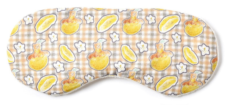 Fruit Bear Eye Pillow Yuzu SB-04-3