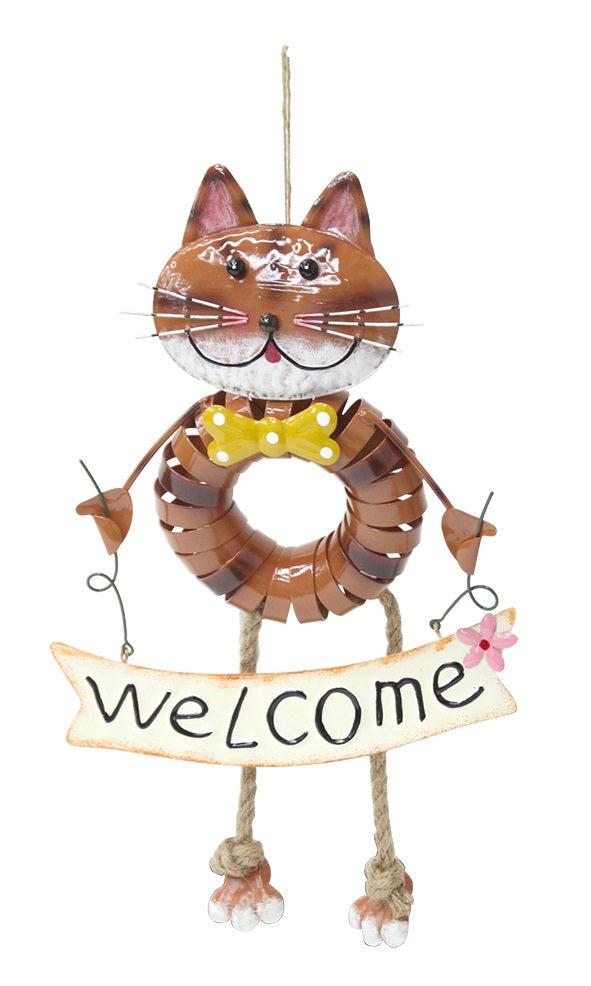 Spring Animal Hanging Cat DE045829