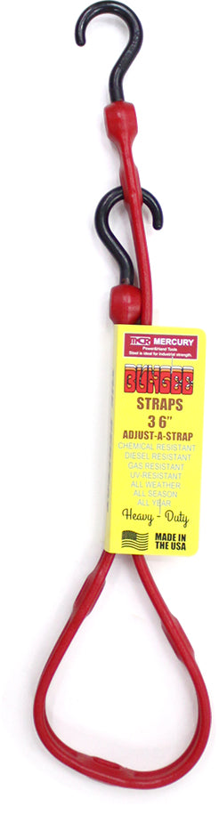 Mercury Adjustable Bungee Strap Red ME045270