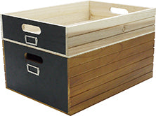 GARNER Wood Box Standard Natural A382NT