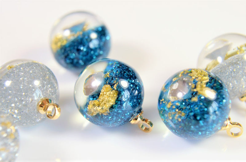 Space goods [Acrylic Beads] Star Parts Space goods Deco Parts Summer Accessories 10 pieces per case