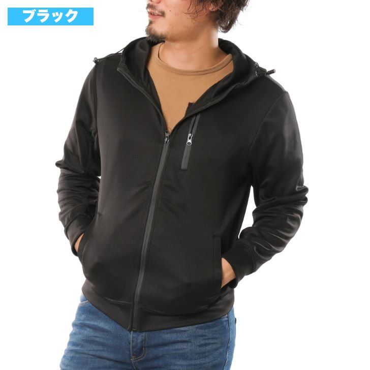 Hoodie Men's Water-Proof Zipper Ponch Zip-Up Hoodie Full Zip Zip 1 Pcs