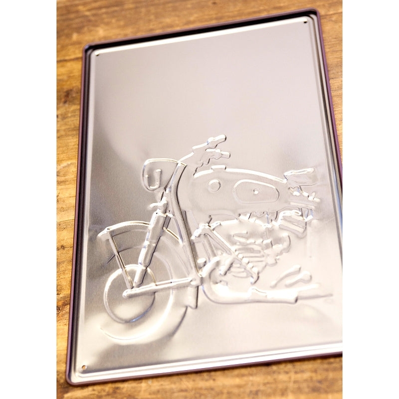 Z183 Antique Metal Plate S 66 BIKE