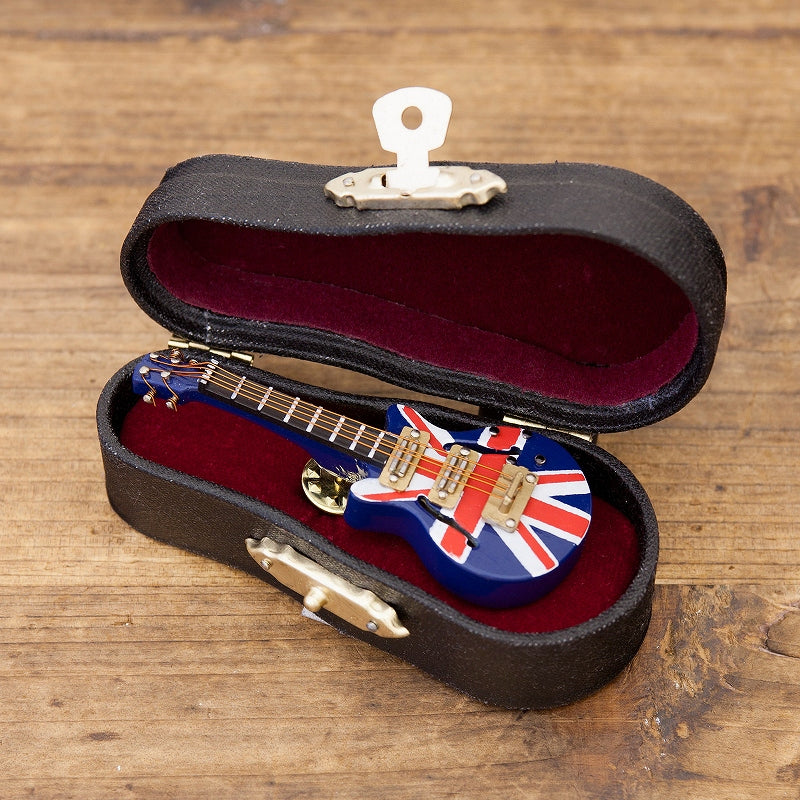 Miniature Band Pin Badge Electric Guitar UK