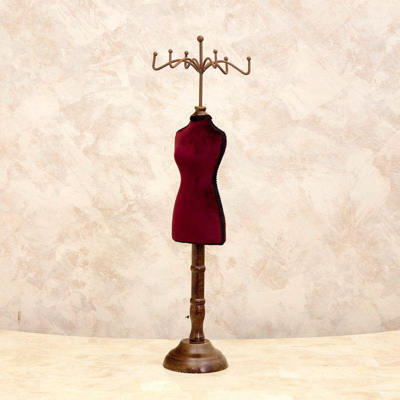 Classical Accessory Stand Wine Red