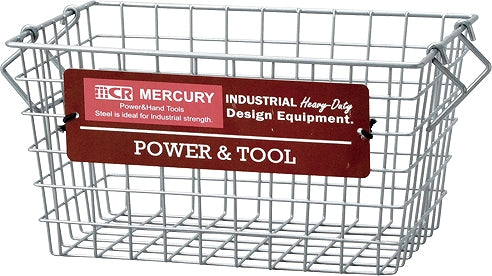Mercury Stacking Basket Close S Silver