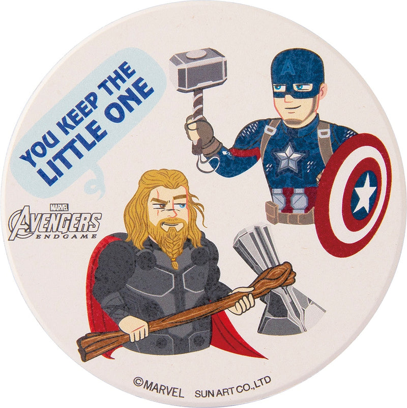 Water Absorption Coaster Thor & Captain America SAN3237-4