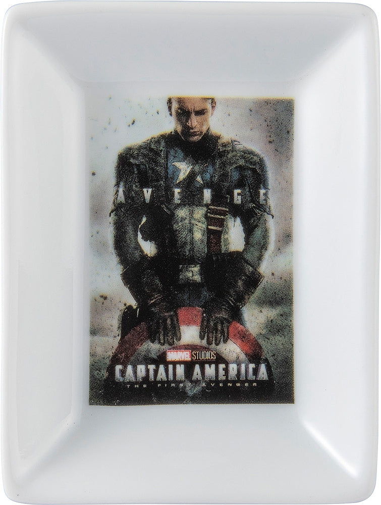 Mini-Plate Captain America SAN3201-4