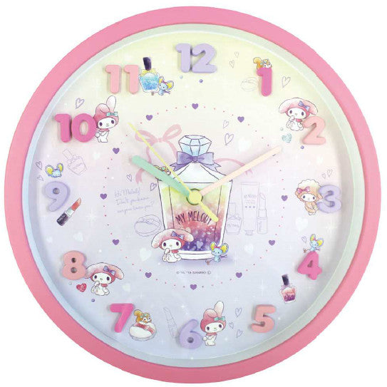 Sanrio Icons Wall Clock My Melody 2926150