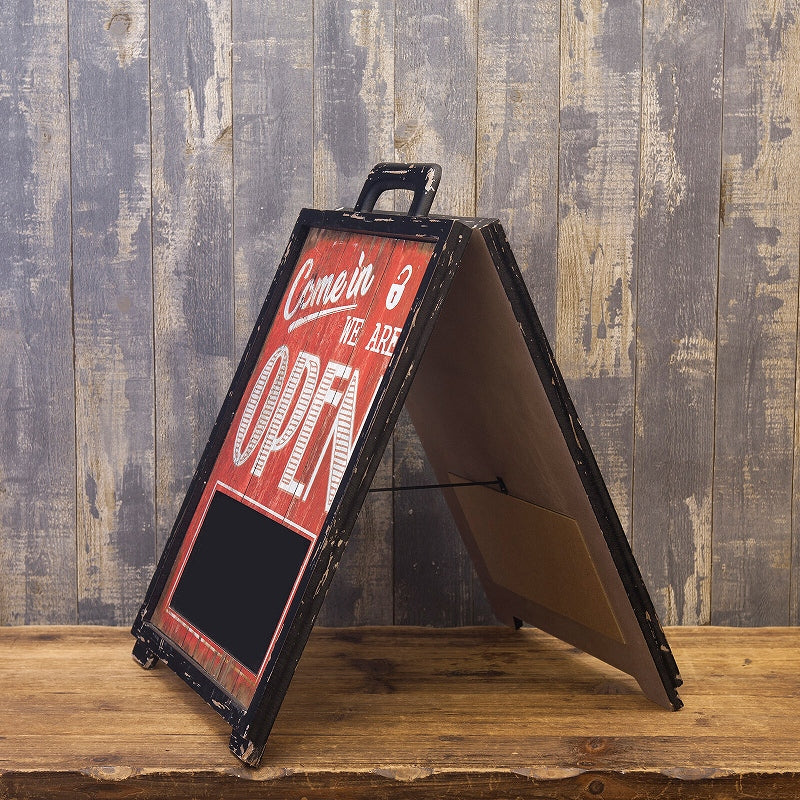American Classic OPEN & CLOSED Foldable Stand GB91518