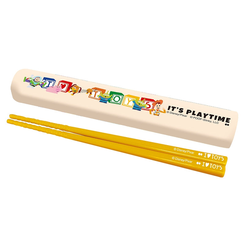 DISNEY PIXAR Chopsticks & Case LUNCH SERIES BLOCK DIE-600