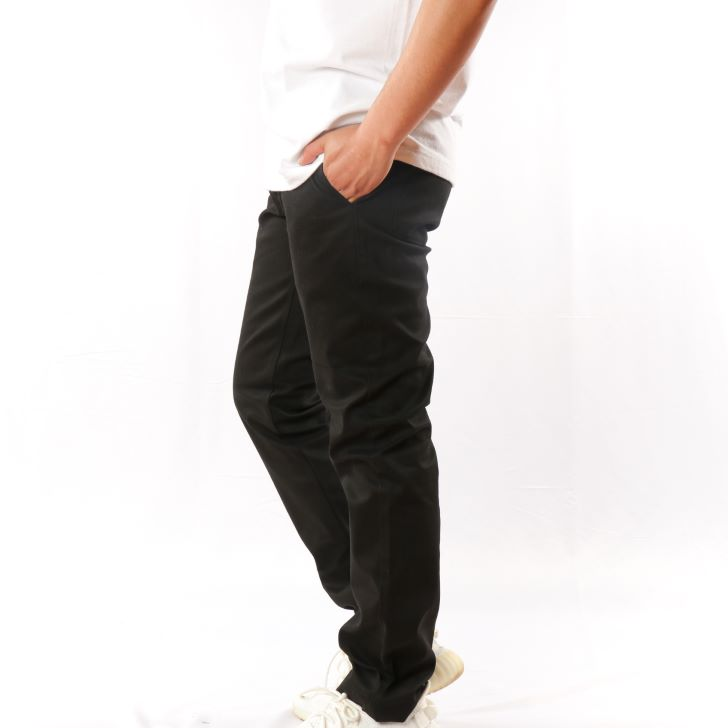 Chino Pants Men's Tricot Lined Windproof Stretch Work Pants Chino Work Pants 1-Pack