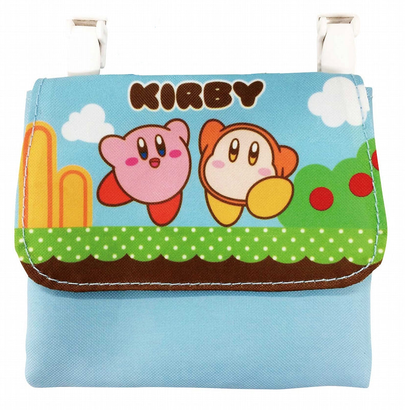 Kirby the Star Pocket Pouch - Kirby & Waddle Dee K-6887B