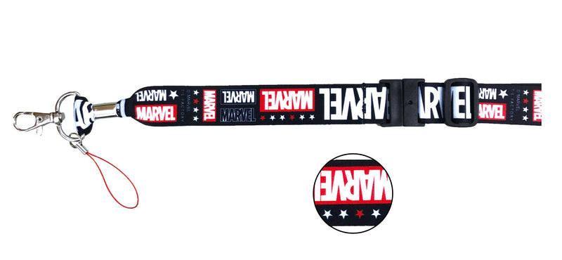Marvel Wide Neck Strap Logo 0505-464