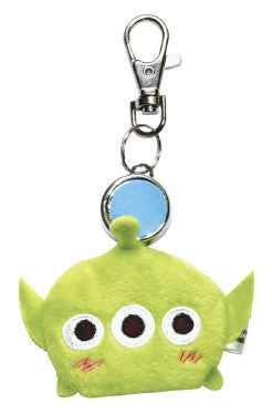 Disney Covered Reel Keychain Love Tsum Alien 506330