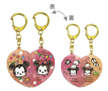 Disney Pair Acrylic Keychain Mickey & Minnie 506341