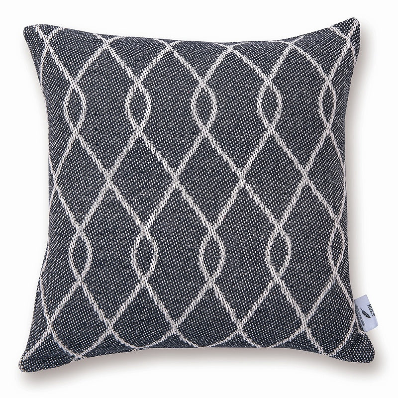Out of stock / Scheduled to arrive in early December] 53301 MUKT Cushion Cover Twist Smoke
