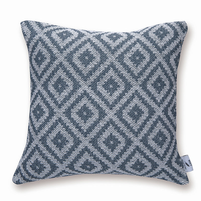 Out of Stock/Early December] 53304 MUKT Cushion Cover Mosaic Indigo