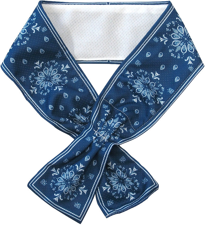 Sommer 2-way Neck Cooler Bandana Navy 72733
