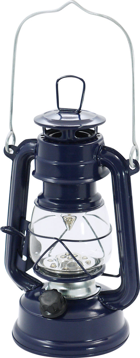 4006919-08 Warm Wool LED Fairy Lantern Navy