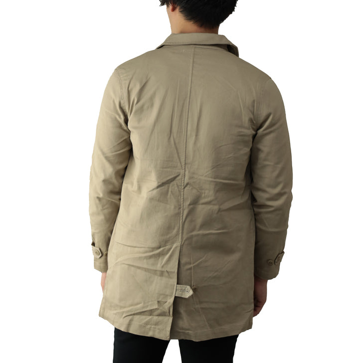 Stencil Coat Men Stretch Long Spring Coat Shop Coat Shirt Coat 1pc