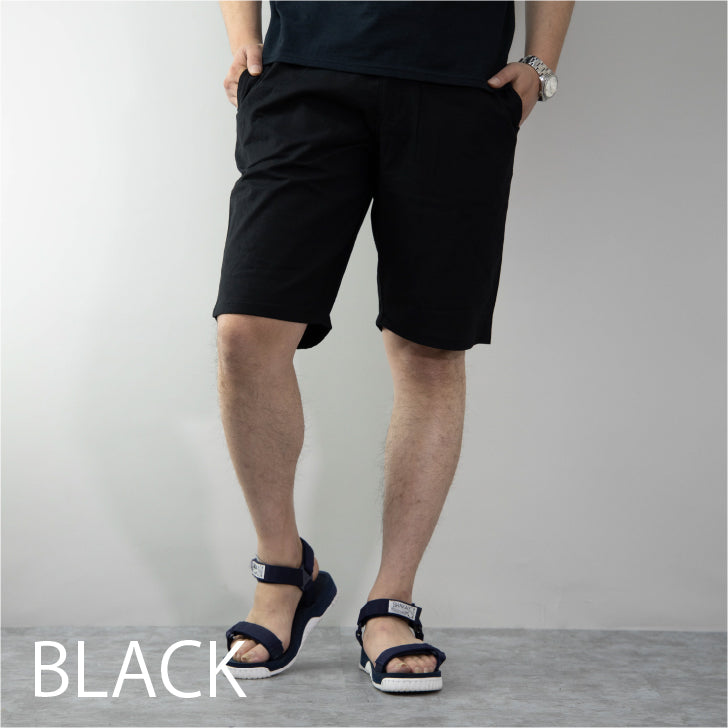 Men's Cotton Linen Stretch Short Shorts Shorts Easy Pants 1 pair