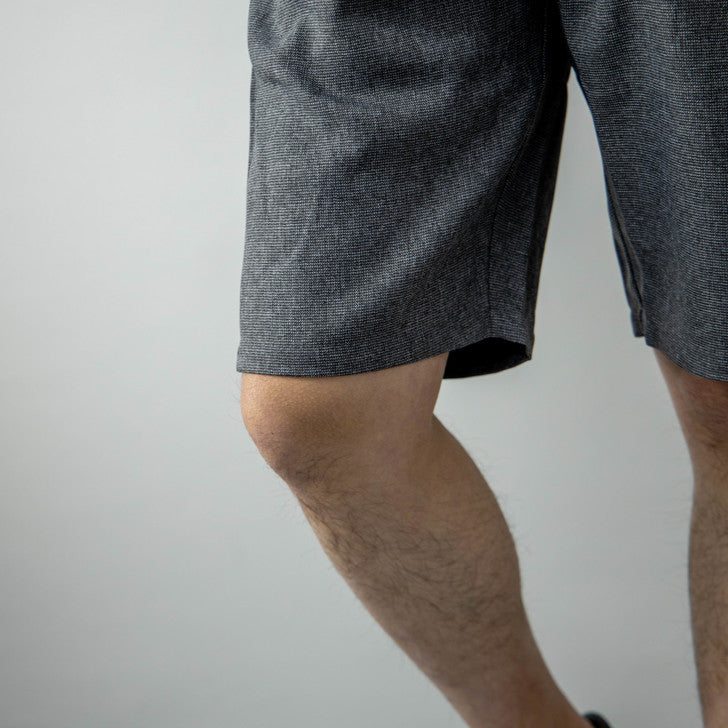 Shorts Men's Below-Knee Linen-Like Shorts Shorts Easy Pants 1-Pack