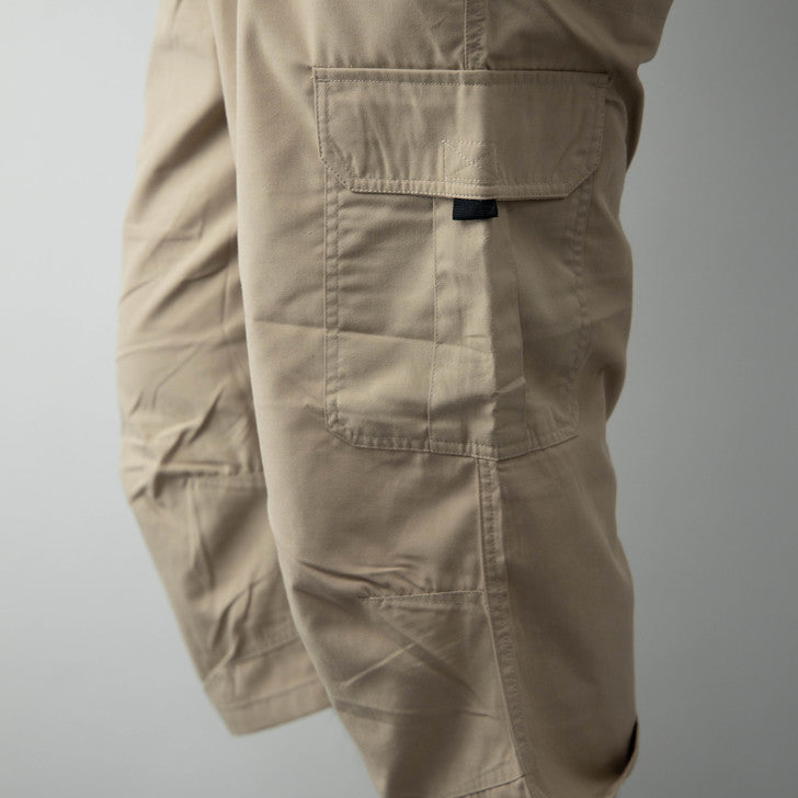 Cargo Pants Men's Cropped Length 7 Minute Length Large Size Easy Workwear Outdoor 3L 4L 5L 1 Pcs