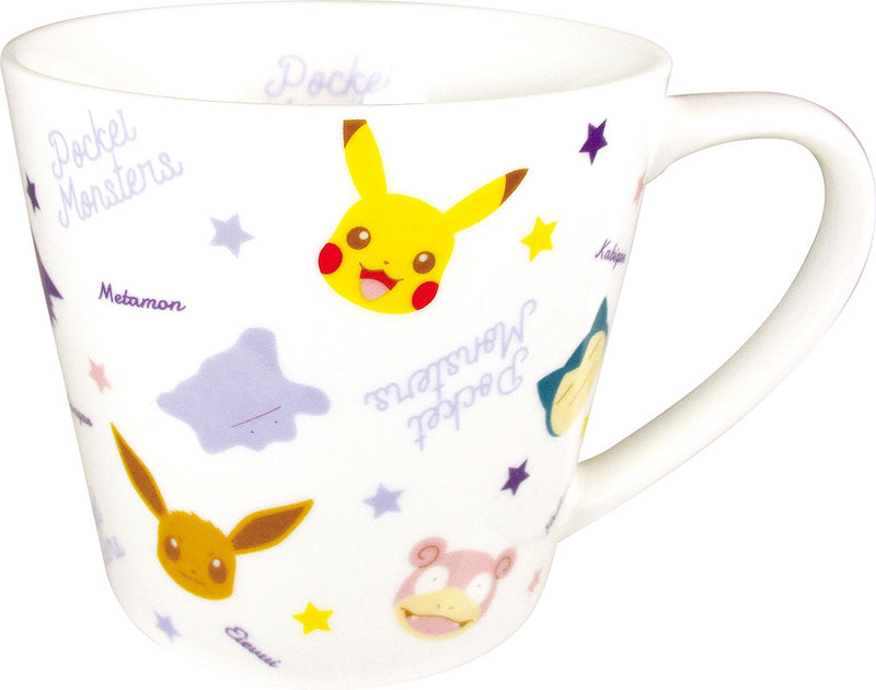 Pokemon Face Pattern Mug Mix PM-5524493MX 1 case 3 pieces