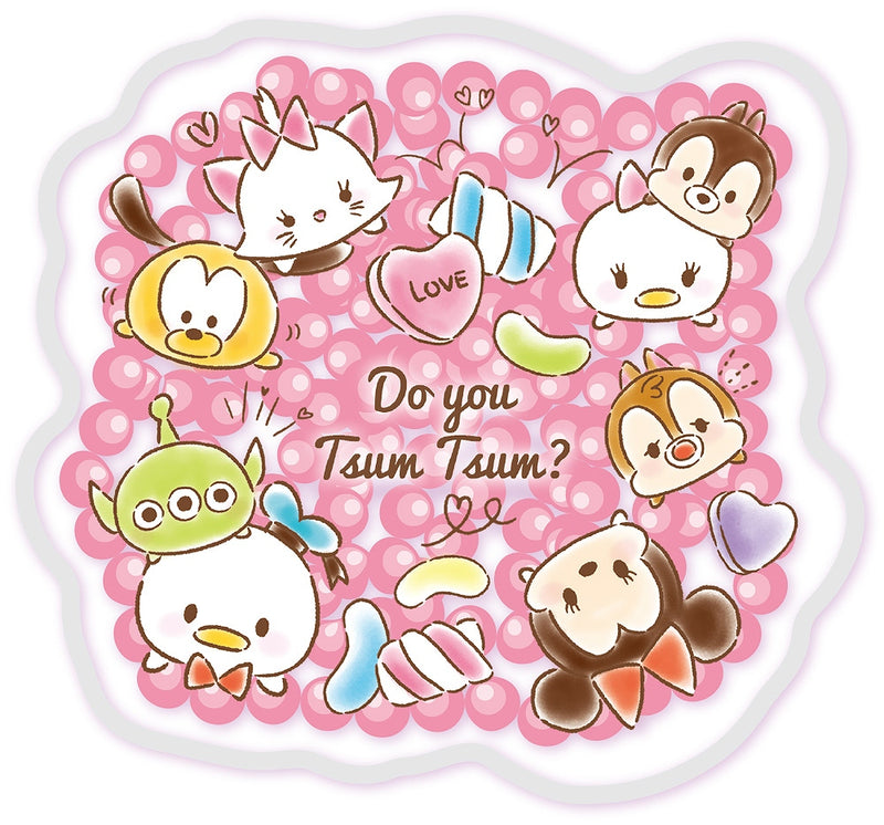 Disney Die-cut ice pack Tsum Tsum Love Love DN-5535426TM 1 case 5 pieces